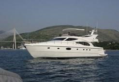 M Ferretti 591 for charter in Portoroz