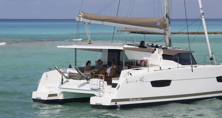 Fountaine Pajot  Lucia 40 - 3 cabins for charter in Trogir