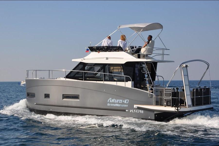 Futura 40 Grand Horizon for charter in Sukosan
