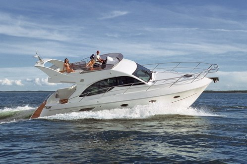 Galeon 390 Fly for charter in Pirovac