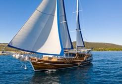 Gulet Andi Star for charter in Trogir