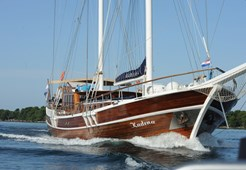 Gulet Kadena for charter in Sibenik