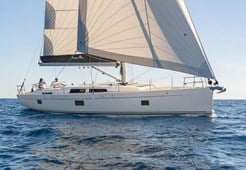 Hanse 508 for charter in