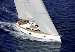 Hanse 545 for charter in Seget Donji