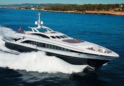 L Heesen 122 for charter in Hrvatska