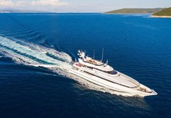 L Heesen 40M for charter in Trogir