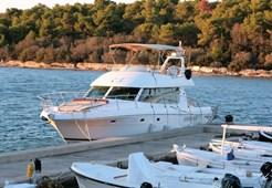Jeanneau Prestige 46 Fly Sanja 1 for charter in Split