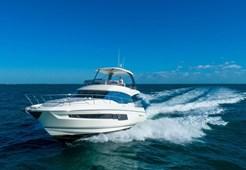 Jeanneau Prestige 460 Fly for charter in Zadar