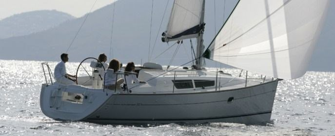 Jeanneau Sun Odyssey 32i for charter in Vodice