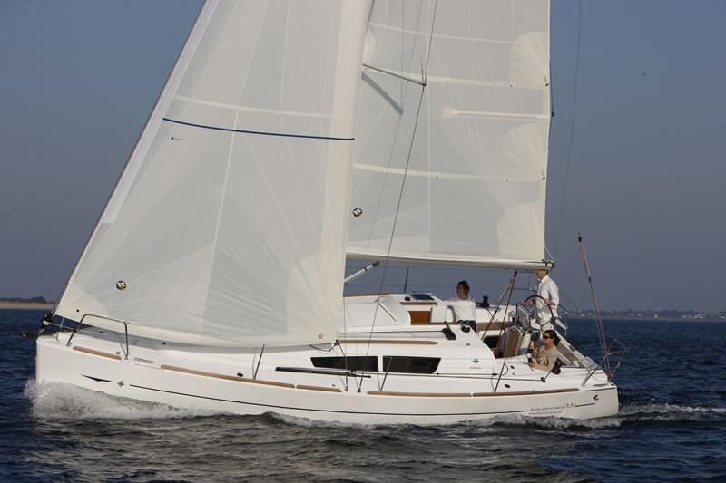 Jeanneau Sun Odyssey 33i for charter in Biograd