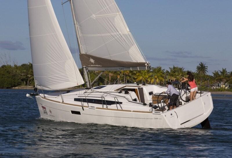 Jeanneau Sun Odyssey 349 for charter in Kastela, Split