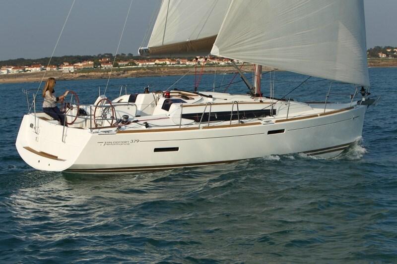 Jeanneau Sun Odyssey 379 for charter in Primosten