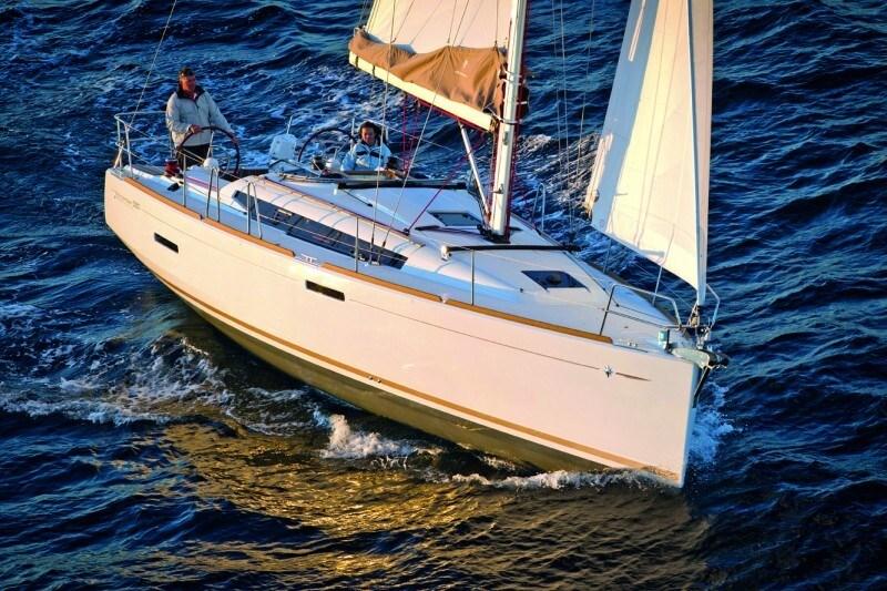 Jeanneau Sun Odyssey 389 for charter in Kastela, Split