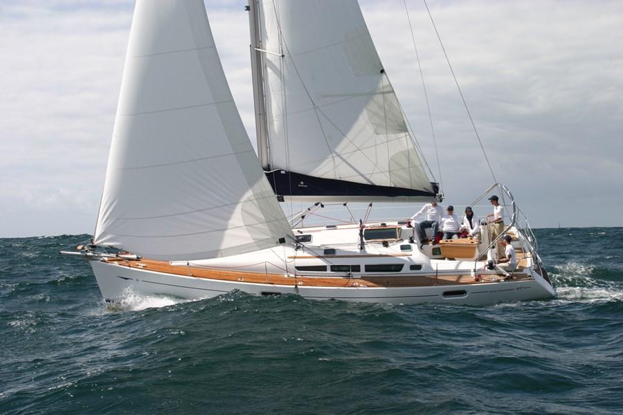 Jeanneau Sun Odyssey 42i for charter in Biograd