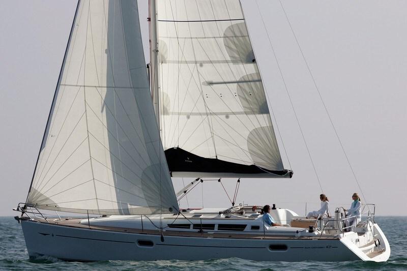 Jeanneau Sun Odyssey 42i for charter in Split