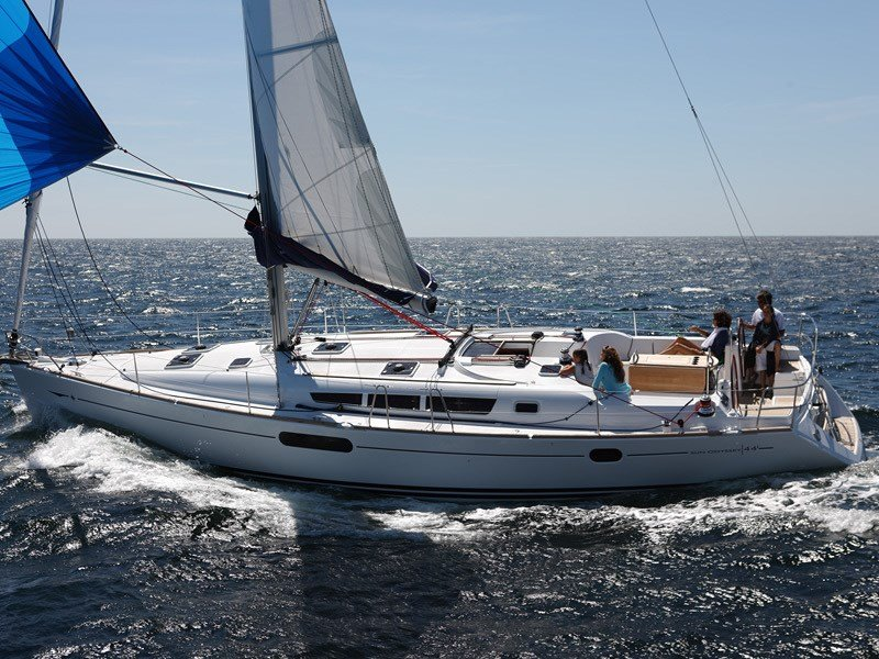 Jeanneau Sun Odyssey 44i for charter in Kastela, Split