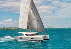 Lagoon 42 charter for charter in