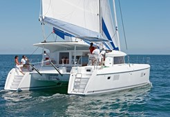 C Lagoon 421 for charter in Kastela, Split