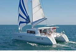 C Lagoon 421 - 3 cabins for charter in Primosten