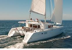 Lagoon 450 owner for charter in Sibenik