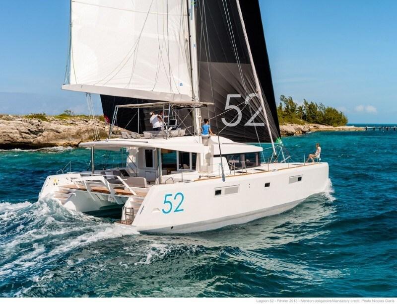 Lagoon 52 for charter in Sibenik
