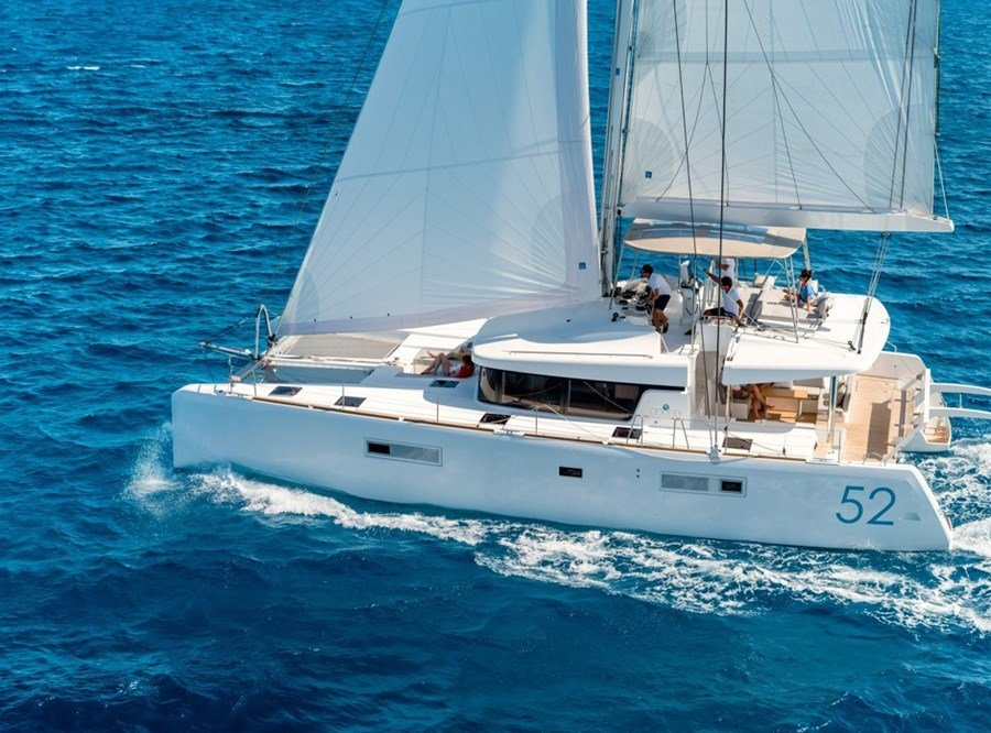 Lagoon 52 - 5 cabins for charter in Zadar