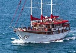 Motor-sailer Barbara for charter in Split