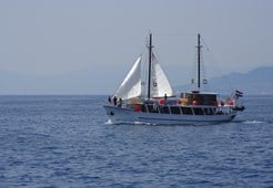 Motor-sailer Madona