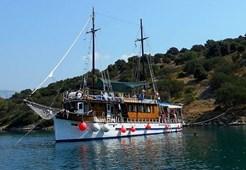 Motor-sailer Orao for charter in Split