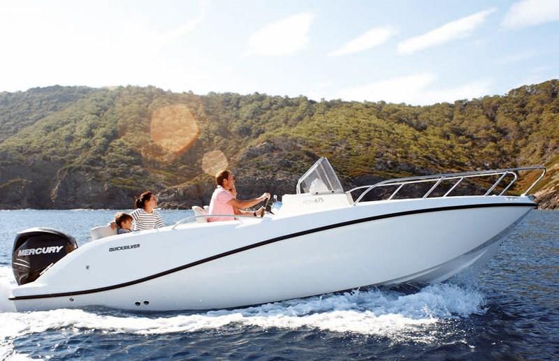 Quicksilver 675 for charter in Makarska