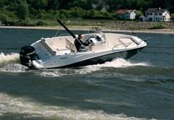 Quicksilver 675 Sundeck for charter in Makarska