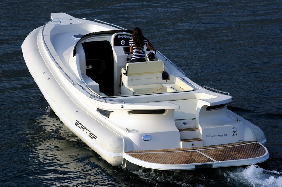 Scanner Dillennium 40 Second Hand Rib Boat For Sale In