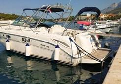 Sea Ray 330 for charter in Makarska