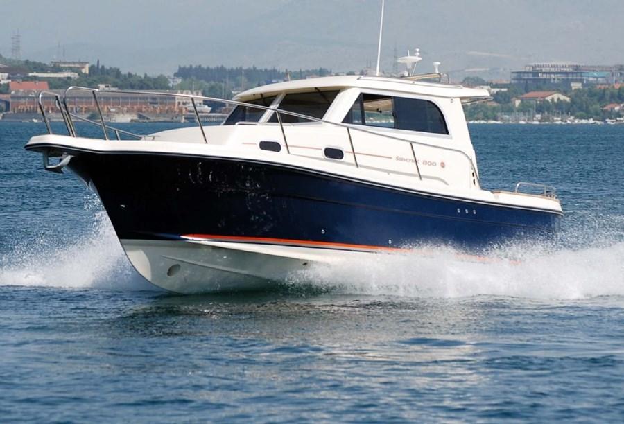 Sibenik 800 for charter in Trogir