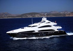 L Sunseeker 121 for charter in Hrvatska