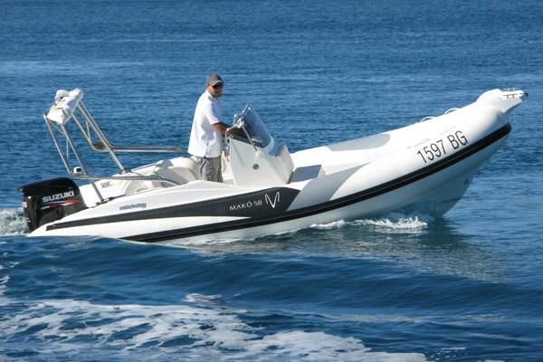 ZAR Mako 58 for charter in Biograd