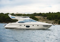 M Azimut 47 Fly for charter in Sibenik