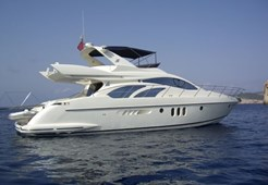 M Azimut 55 for charter in Sibenik