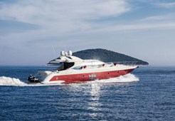 M Azimut 68S for charter in Sibenik