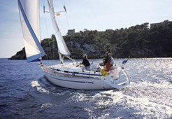 Bavaria 36 for charter in