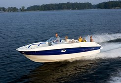 Bayliner 249 Deck Boat