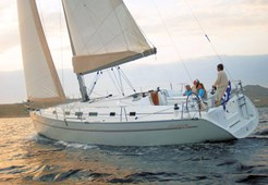 S Beneteau Cyclades 43.3 for charter in Pula