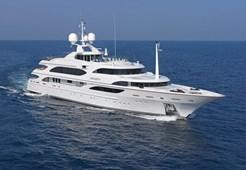 L Benetti 195 for charter in Trogir