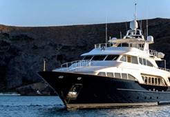L Benetti 35 for charter in Dubrovnik