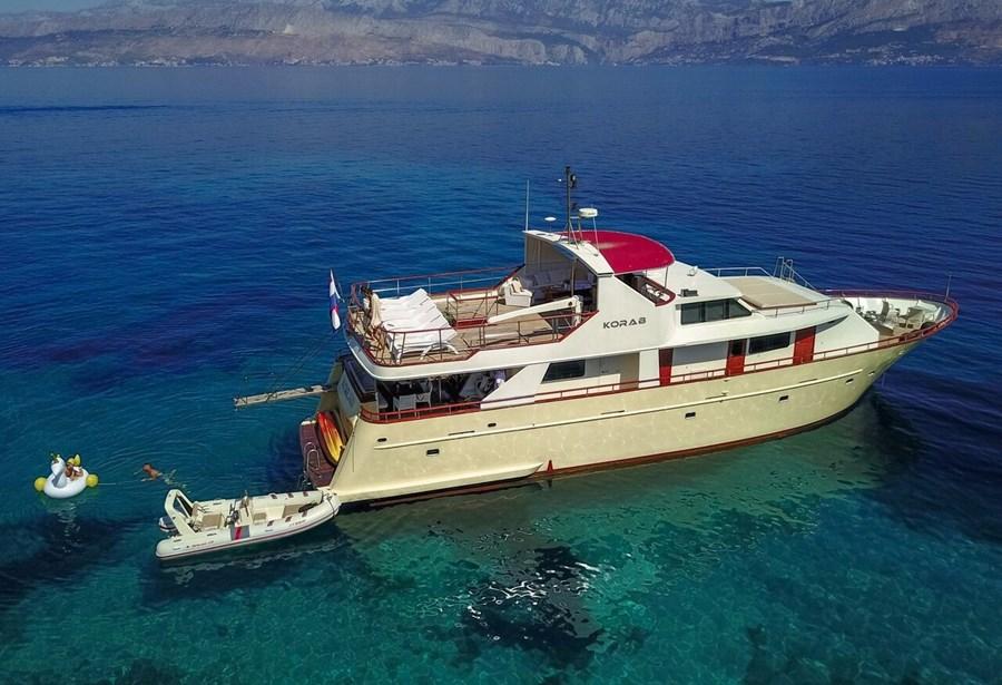 Custom Korab for charter in Split