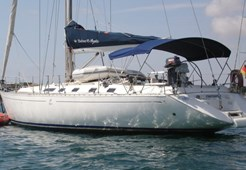 S Dufour 45 -3 cabins for charter in Portoroz