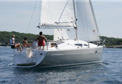 S Elan 344 Impression for charter in Biograd
