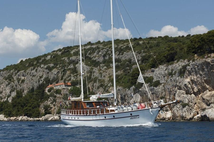 Gulet Aborda for charter in Split