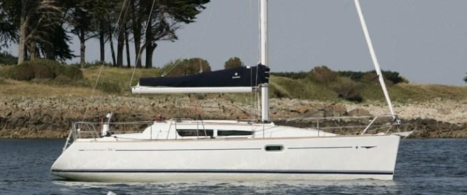 Jeanneau Sun Odyssey 36i for charter in La Maddalena