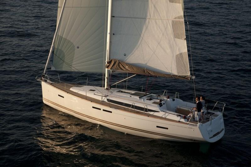 Jeanneau Sun Odyssey 439 for charter in Biograd